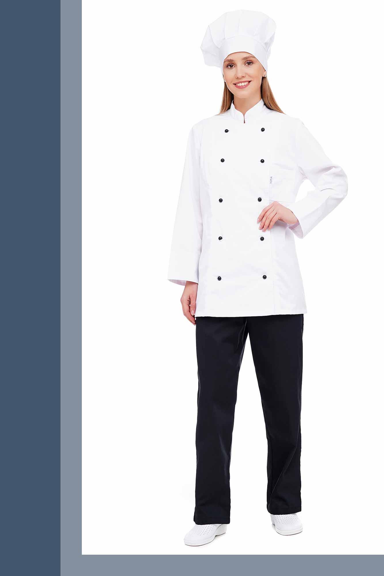 Костюм кухаря жіночий